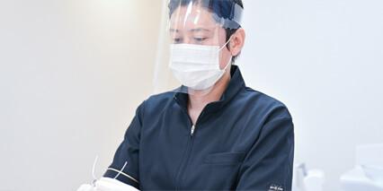 医療スタッフの感染対策の徹底